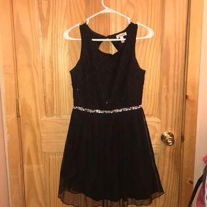 A short prom dress
